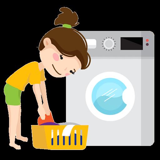 洗衣服圖示